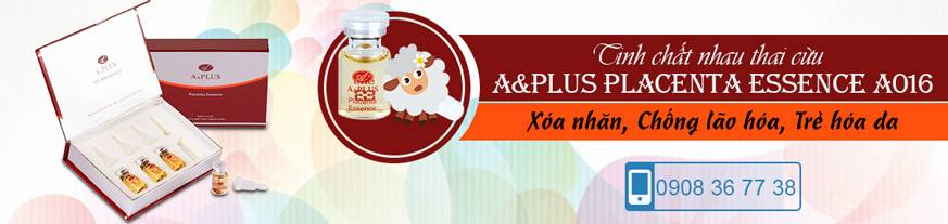 [Banner SP] Tinh chất nhau thai cừu chống lão hóa A&Plus (Hotline)