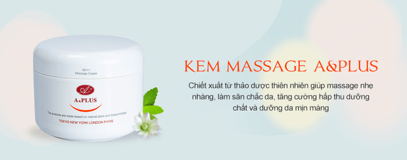 Kem massage mặt A&Plus Massage Cream MV011 01