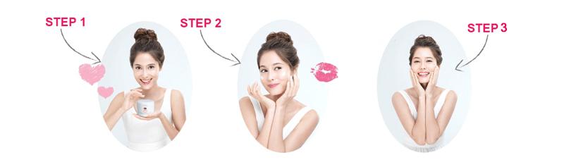 Kem mặt nạ trắng da A&Plus Whitening Active Mask MV010 02