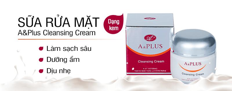 Kem rửa mặt A&Plus Cleansing Cream A002 01