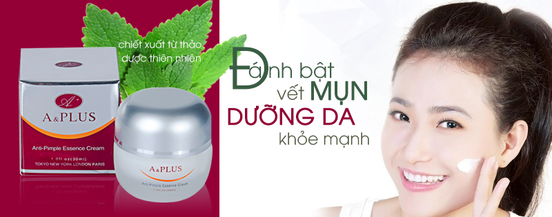 Kem trị mụn A&Plus Anti-Pimple Essence Cream A012 02