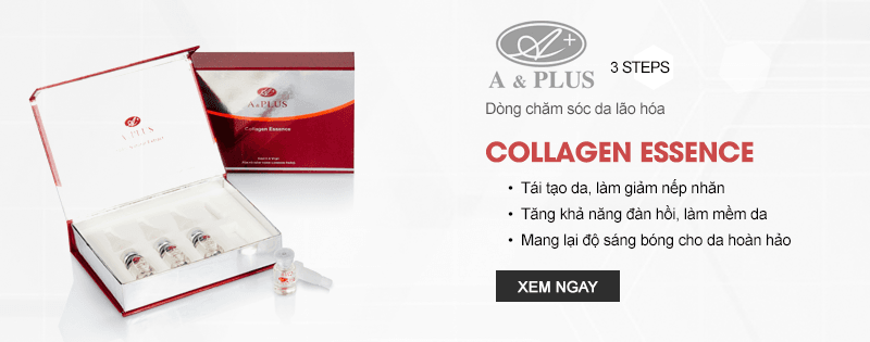 Tinh chất collagen A&Plus Collagen Essence A018 01