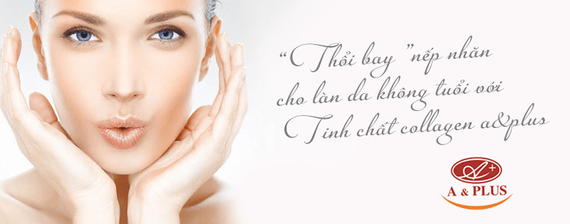 Tinh chất collagen A&Plus Collagen Essence A018 02
