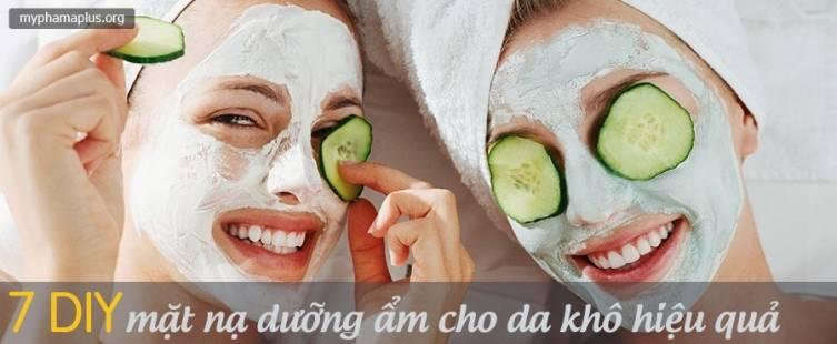 7 DIY mặt nạ dưỡng ẩm cho da khô hiệu quả