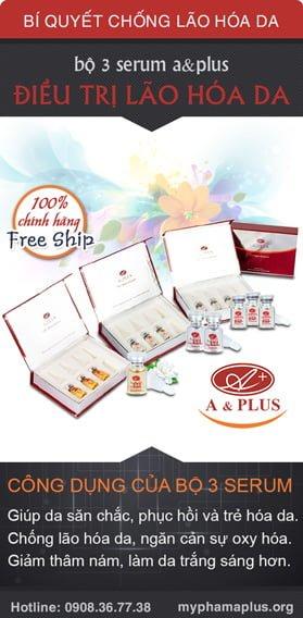 Mua ngay Bộ 3 serum điều trị lão hóa A&Plus