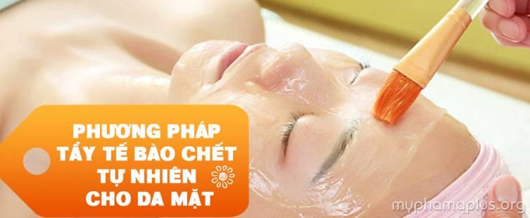 Phương pháp tẩy tế bào chết tự nhiên cho da mặt