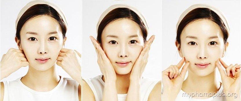 Cách Massage giúp thon gọn khuôn mặt 3