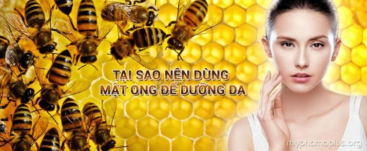 Tại sao nên dùng mật ong để dưỡng da