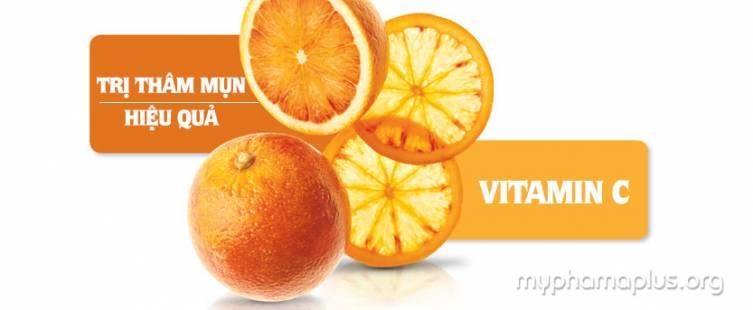 Hết thâm mụn nhanh chóng với Vitamin C