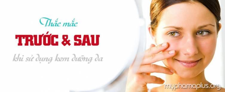 Những thắc mắc trước và sau khi sử dụng kem dưỡng da mặt