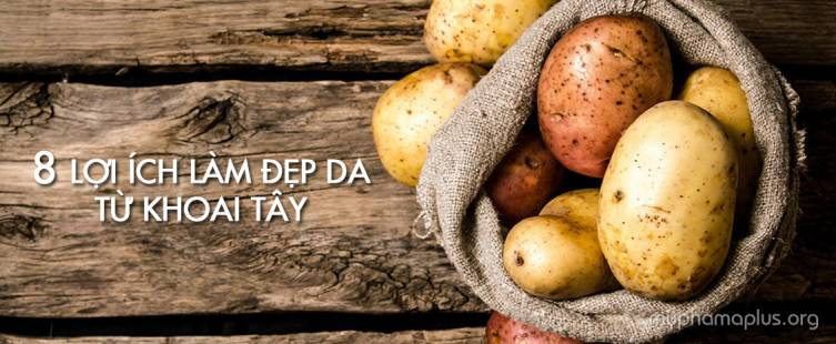 8 Lợi ích làm đẹp da từ khoai tây