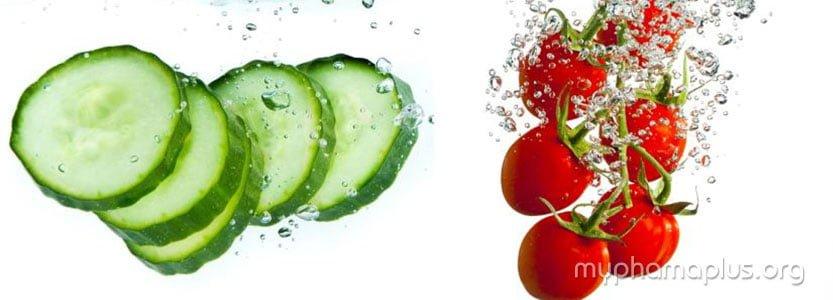 Nước ép cà chua - Khắc phục mọi nhược điểm trên da 3