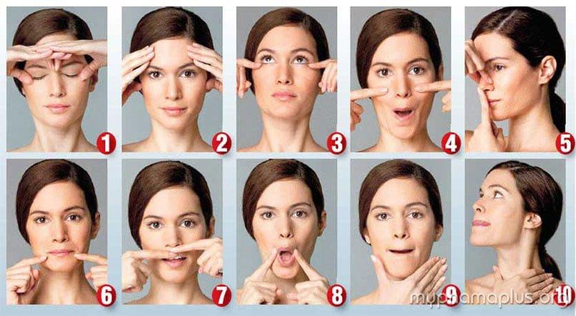 7 Bước đơn giản massage da mặt tại nhà 1