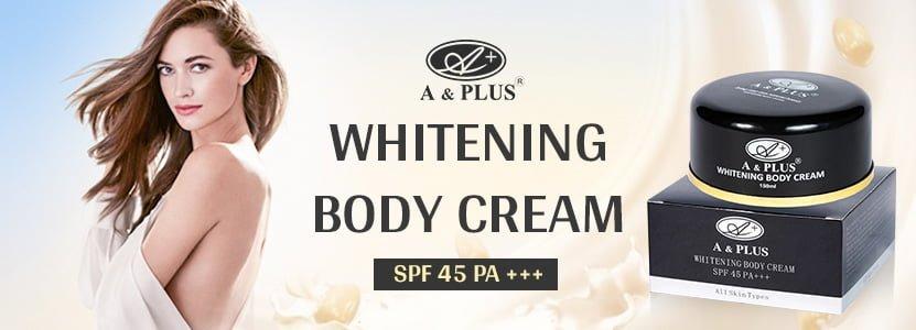 Kem dưỡng trắng da toàn thân A&Plus Whitening Body SPF 45 PA+++ 1