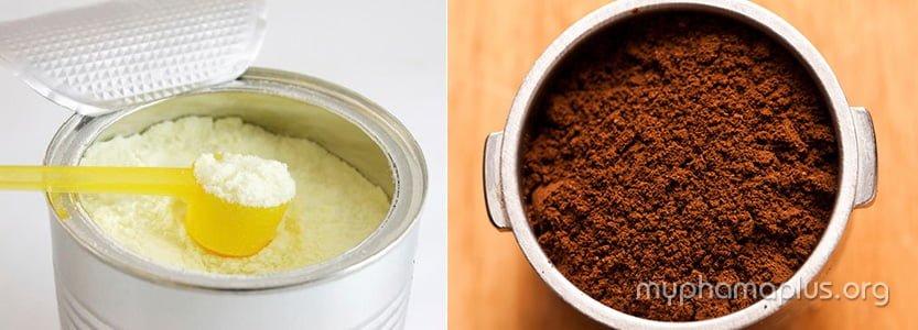 cách làm trắng da mặt cho nam tại nhà bằng sữa bột và café