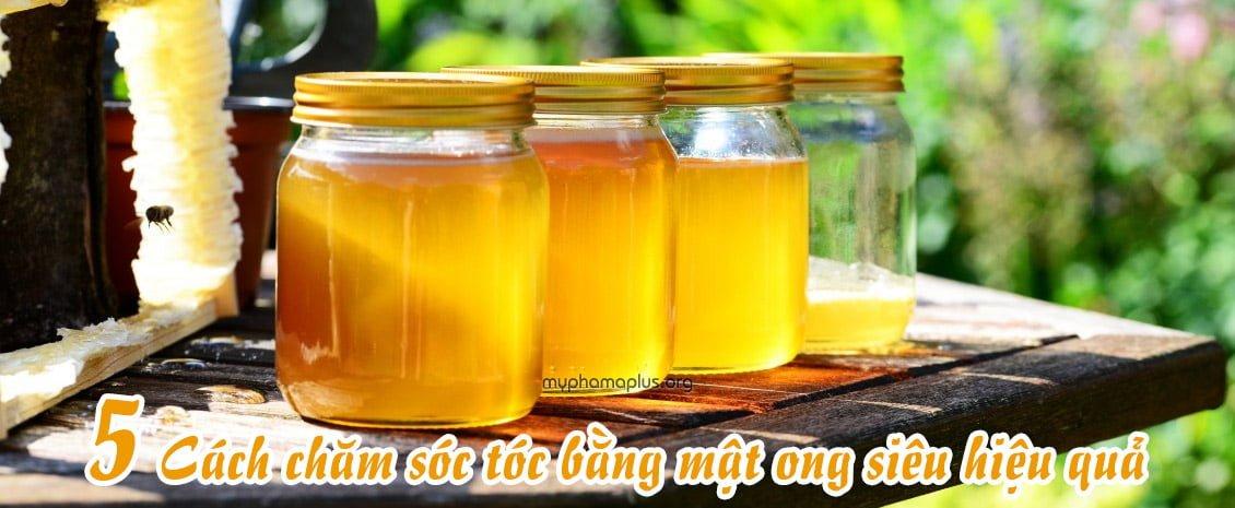 5 cách chăm sóc tóc bằng mật ong siêu hiệu quả