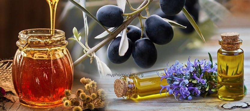 Cách chăm sóc tóc bằng mật ong, dầu oliu và dầu hương thảo