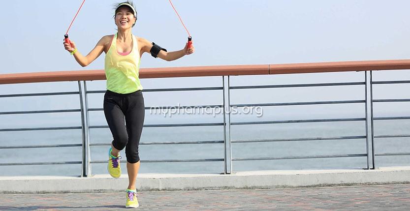 Nhảy dây từng chân giảm cân hiệu quả nhất
